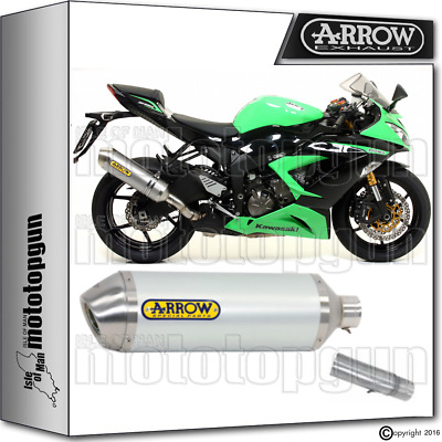 Arrow Kit Exhaust Racetech Aluminium Hom Kawasaki Zx-6R 636 2013 13 2014 14