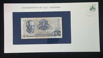 Norway -1982 -  10 Kroner -  Banknotes Of All Nations
