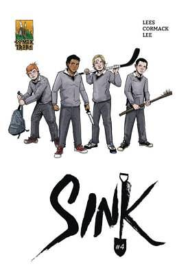 Sink #4 Mulvey Cover Comixtribe Comics Horror Clowns 50/50 Cover Split Preorder