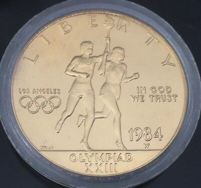 1984 Los Angeles Olympic Gold Ten Dollar Coin