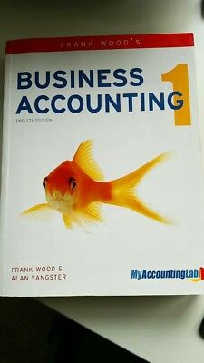Business Accounting 1 (Twelfth Edition) by Frank Wood & Alan Sangster
