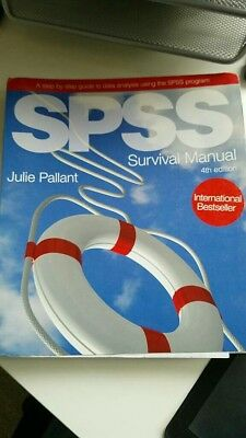 SPSS Survival Manual (4th edition) by Julie Pallant