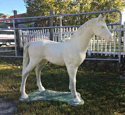 Antique Vintage Concrete/Cement Statuary Horse Garden Statue