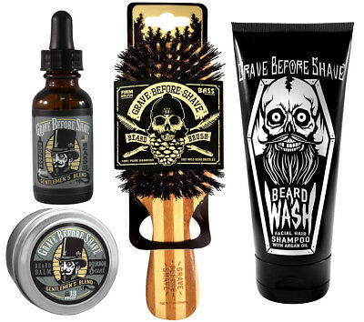 Grave Before Shave™ Beard Care Pack (Gentlemen's Blend)