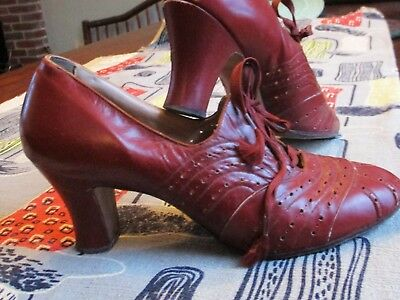 Vintage WWII 1940's Quali-Craft Ladies Shoes