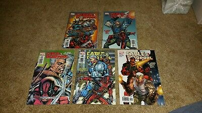 Marvel Comics Cable and Deapool Lot