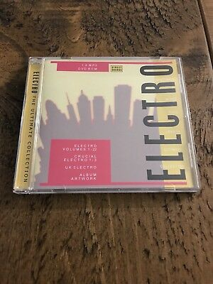 Electro Street Sounds Ultimate Collection (all 22 Volumes + crucial 1-3)MP3,DVDr