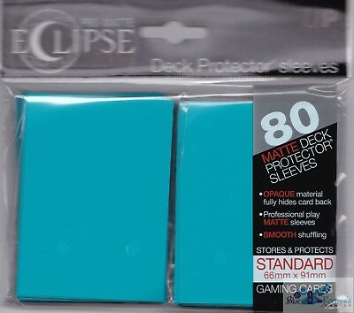 Ultra Pro Matte Deck Protector Sleeves ECLIPSE SKY BLUE 100ct MAGIC POKEMON