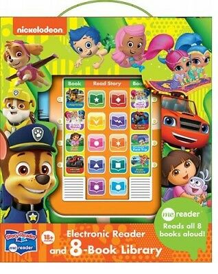 Nickelodeon Electronic Me Reader Activity Pad & 8 Book Library