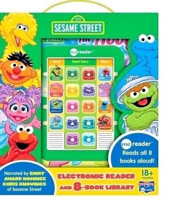 Sesame Street Electronic Me Reader Activity Pad & 8 Book Library