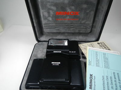 Minox Special Edition 35 Gse With Flash Fc35St Boxed Rare Camera Made In Germany