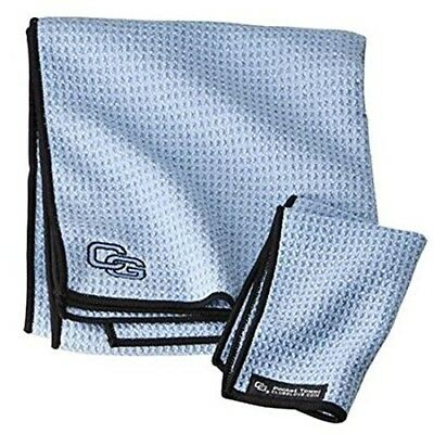 (Blue Steel) - Club Glove Microfiber Caddy Towel. Delivery is Free