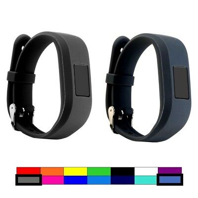 (2PCS - GREY & SLATE) - For Garmin Vivofit 3 and Vivofit JR, Dunfire Colourful
