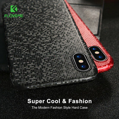 Cute Mosaic Cell Phone Hard Protective Case Cover For Iphone 6 7 Plus X Slim Bag