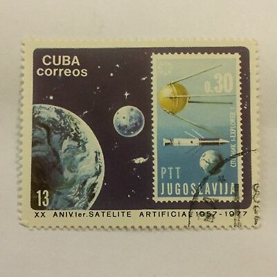 Space Postage Stamp Collectable International