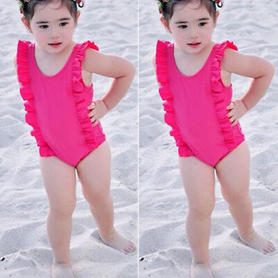 AU Fashion Toddler Kid Baby Girl Bikini Swimwear Swimsuit Bathing Suit Beachwear