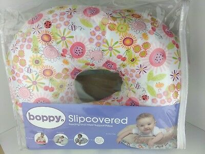 Boppy Nursing Pillow with Slipcover - SUNNY DAY Pink discontinued design