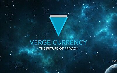 1000 VERGE COINS (XVG) CRYPTO CURRENCY-direct in your wallet