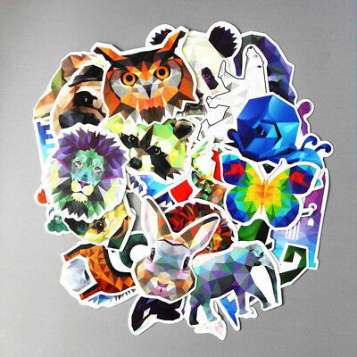 35 Pcs/lot Pixel Animal Stickers Funny Car Laptop Bicycles DIY Waterproof Cute