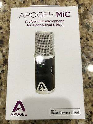 Apogee Electronics MIC96K Cable Microphone for iPhone, iPad, and MAC