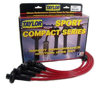 Taylor Cable 74291 8mm Spiro Pro; Ignition Wire Set
