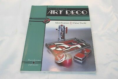 Identification/price Guide Book On Art Deco