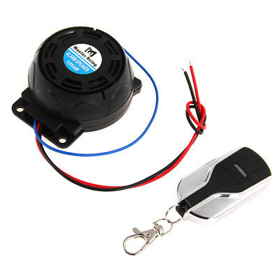 Motorcycle Bike Anti-theft Security Alarm System Burglar Scooter Remote  Control
