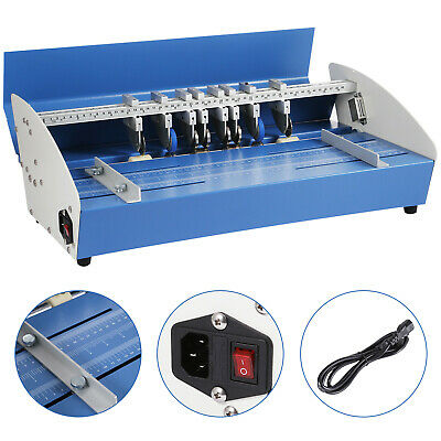 5in1 520mm Electric Creasing Machine Perforating  Printing Scoring Cards