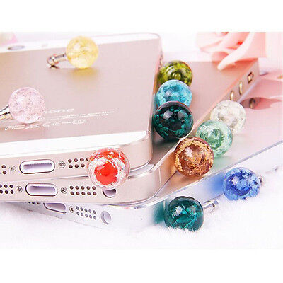 Phones 3.5mm Jack Universal Glow Headset Headphone Anti Dust Plug Cute Gifts CA