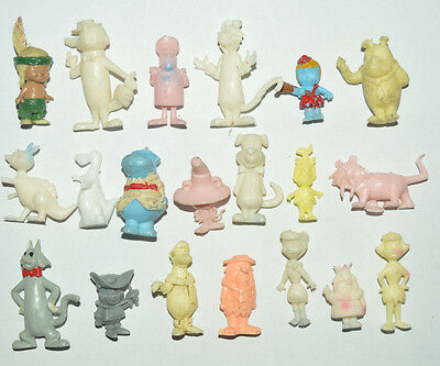Vintage Very Rare Cereal Premium Mexican Figures Hanna Barbera Tinykins -