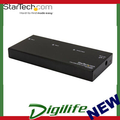STARTECH 2 Port High Speed HDMI Video Splitter and Signal Amplifier