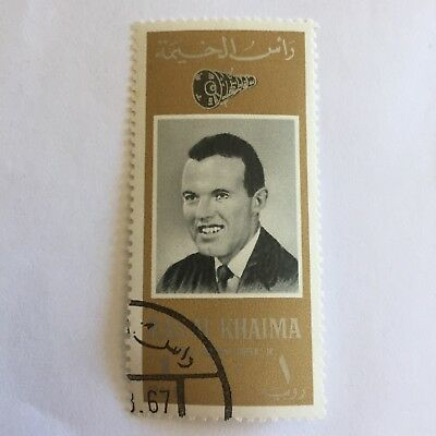 Space Postage Stamp Collectable International Middle East