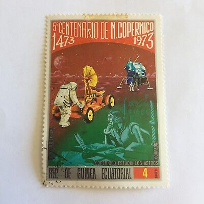 Space Postage Stamp Collectable International 1973 Copernico