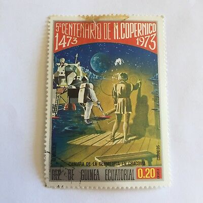 Space Postage Stamp Collectable International 1973