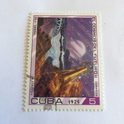 Space Postage Stamp Collectable International 1975