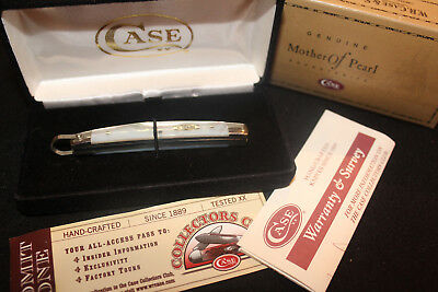 "Case XX Genuine Pearl handle knives - Congress knife - 3 3/8"" -  NIB w/papers"