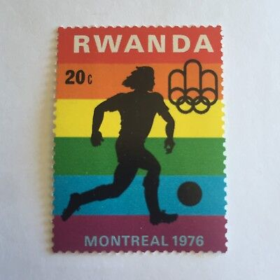 Sport Postage Stamp Collectable International Sporting Montreal 1976 Shooting