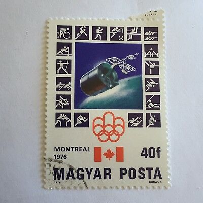 Sport Postage Stamp Collectable International Sporting Montreal 1976 Olympics