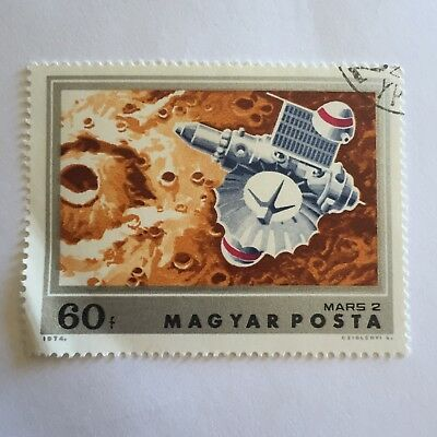 Space Postage Stamp Collectable Mars 2