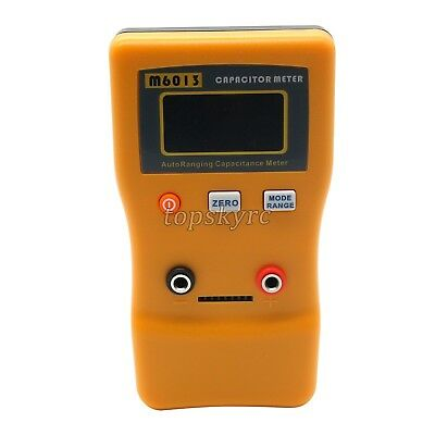 LCD Digital Capacitor Capacitance Tester Meter Auto Range Multimeter Checker UK