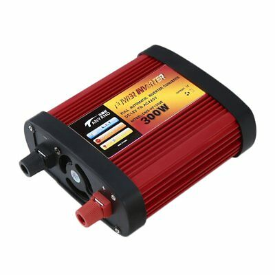 Car Power Inverter DC12V to AC220V with 2 USB Ports+AC Outlet 300W/500W/100iK