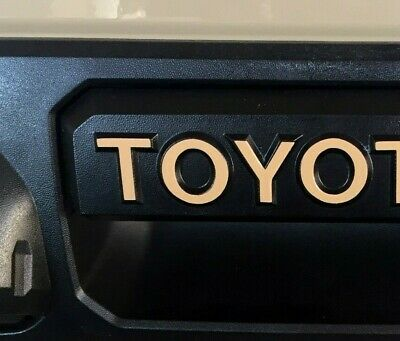 Premium Vinyl Inlay Decals for Tacoma/Tundra Tailgate Handle