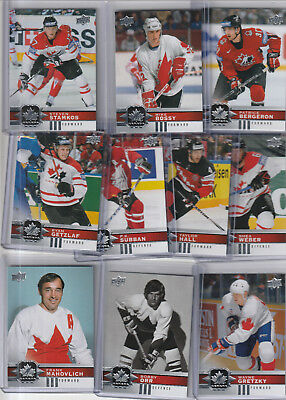 2017-18 UPPER DECK Canadian Tire Team Canada SP U Pick *FREE COMBINED SHIPPING