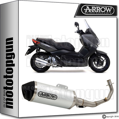 Arrow Full Silencer Urban Aluminium Hom Yamaha X-Max 250 2012 12 2013 13 2014 14