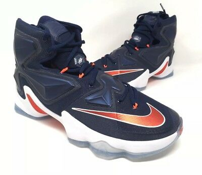 premium selection af967 de52a Nike LeBron XIII 13 USA Basketball Shoes  200 807219-461 Mens Size 10 Brand  New