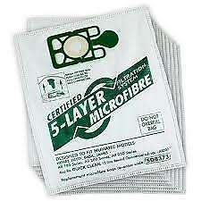 Pack of 10 Numatic Henry/Hetty/Basil/James Hoover Dust Bags 5 Layer Microfibre