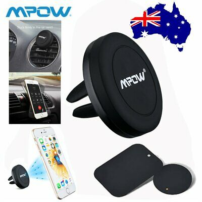 Mpow Auto Car Holder Mini Air Vent Mount Magnet Magnetic Phone Stand Universal