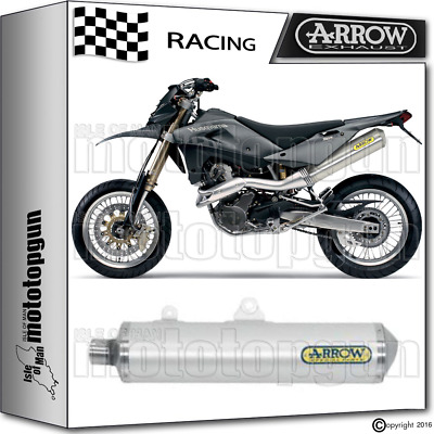 Arrow Exhaust Thunder Off-Road Aluminium Race Husqvarna Sm 610 2005 05 2006 06