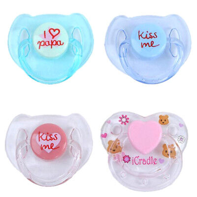 Cute Dummy Magnetic Pacifier For Reborn Baby Internal Magnet Dolls Accessorie UK