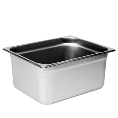 Buffet Pans 1/2 Size 6' Deep Stainless Steel Steam Table Hotel Pan (Pack of 6)